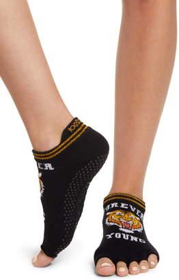Toesox Eternal Low Rise Half Toe Gripper Socks