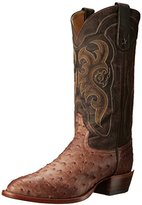 Tony Lama Boots Men's Vintage Ostrich 8965 Western Boot