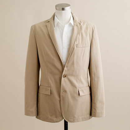 J.Crew Unconstructed Ludlow sportcoat in cotton twill
