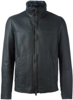 Drome high neck zipped jacket