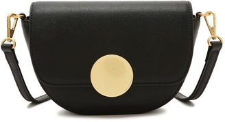 Oryany Lottie Saddle Crossbody - Black