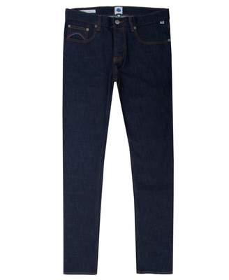 Pretty Green Castlefield Skinny Fit Jeans Colour: 6 Month Wash, Size: