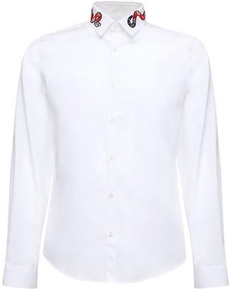 Gucci Duke Oxford Shirt W/ Embroidery