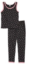 Tucker + Tate Toddler Girl's Ruby & Bloom Fitted Two-Piece Pajamas