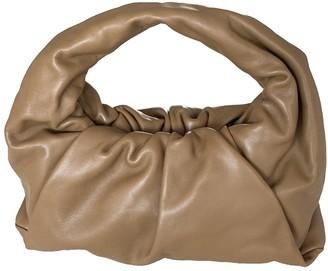 Bottega Veneta The Shoulder Pouch Camel Leather Handbags