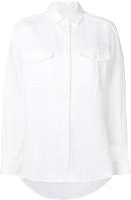 Holland & Holland Pointed Collar Shirt