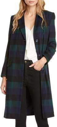 Helene Berman College Check Coat