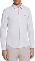 BOSS ORANGE Dot Stripe Slim Fit Button-Down Shirt