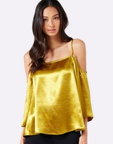 Forever New Metallic Swing Cami Top