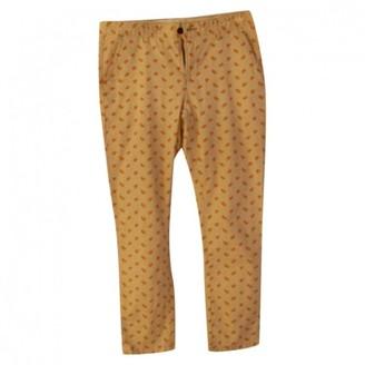 Paul & Joe Sister Ecru Cotton Trousers for Women