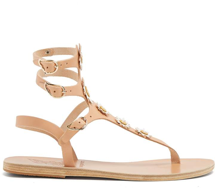 Ancient Greek Sandals x Fabrizio Viti Valentina leather sandals