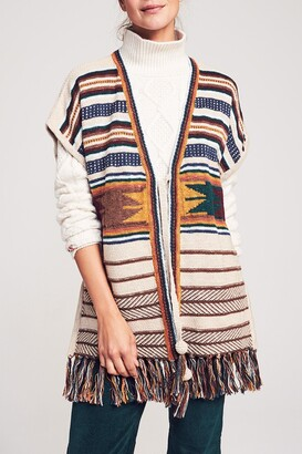 Faherty Brand Savanah Sweater Poncho