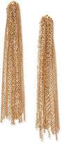 Thalia Sodi Gold-Tone Tassel Chain Linear Earrings, Only at Macy's