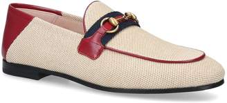 Gucci Brixton Web Loafers