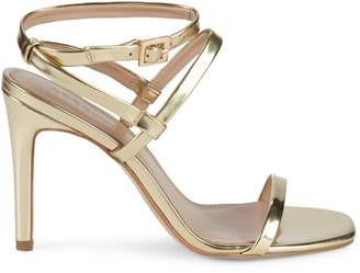 BCBGeneration Ivanna Metallic Slingback High-Heel Sandals