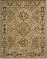 """Nourison Area Rug, Wool & Silk 2000 2260 Multi Color 9'9"""" x 13'9"""""""