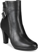 Alfani Women's Velvett Ankle Booties, Only at Macy's
