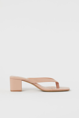 H&M Toe-post mules