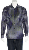 7 For All Mankind Plaid Woven Shirt