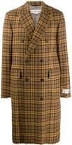Golden Goose double breasted tweed coat