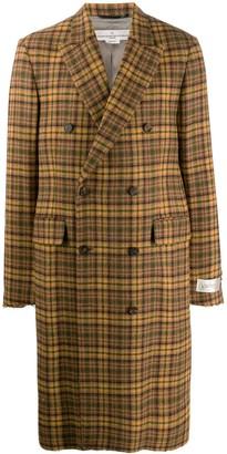 Golden Goose Double-Breasted Tweed Coat