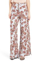 WAYF Women's Side Slit Wide Leg Pants
