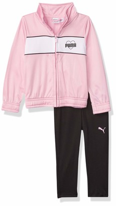 Puma Girls' Track Jacket & Pant Set