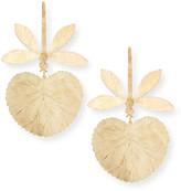 Natori Dragonfly Earrings, Gold