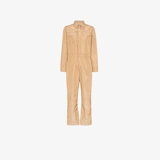 Ganni Collared Jumpsuit