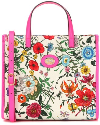 Gucci GG Flora Medium canvas tote