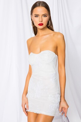 superdown Sandra Strapless Dress