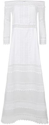 Charo Ruiz Ibiza Gamma Off-The-Shoulder Lace Dress