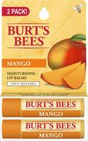 Burt's Bees Mango Lip Balm 2 Tubes