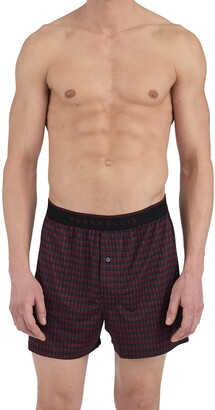 Perry Ellis Men's Chevron Stripe Luxe Boxer Short