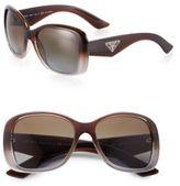 Prada Oversized Square Glam Sunglasses