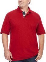 Lee Short-Sleeve Flag Polo - Big & Tall