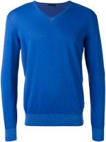 Z Zegna V-neck jumper - men - Cotton - S