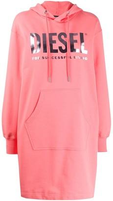 Diesel Logo Print Sweater Dress