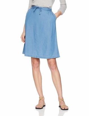 Damart Women's Jupe Fluide Pur Coton Skirt