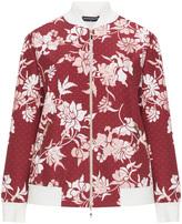 Manon Baptiste Plus Size Floral blouson jacket