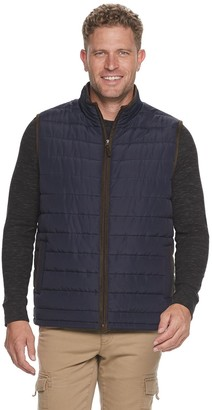 Coleman Men's Quilted Zip Front Vest