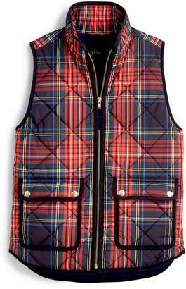 J.Crew Tartan Excursion PrimaLoft® Quilted Vest