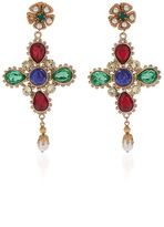 Dolce & Gabbana Multicolor Drop Earrings
