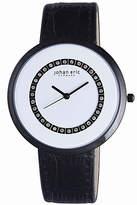 Johan Eric Vejle Quartz Black Leather Strap Watch