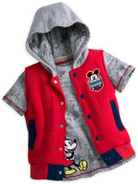 Disney Mickey Mouse Tee and Hooded Vest Set for Boys