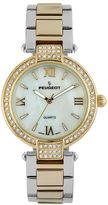 Peugeot Two Tone Crystal & Mother-of-Pearl Watch - 7084TTG - Women