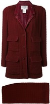 Chanel Pre Owned 1998 boxy tweed suit