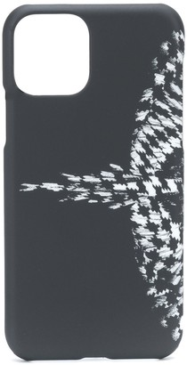 Marcelo Burlon County of Milan cross wings iPhone 11 pro case