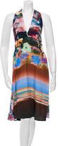 Clover Canyon Midi Halter Dress