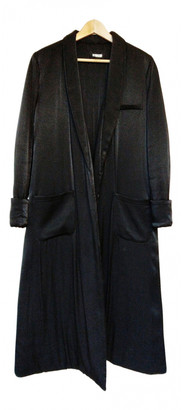 Reformation Black Wool Coats